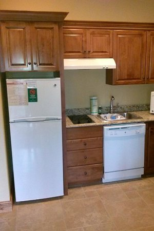 Westgate Smoky Mountain Resort & Spa: Small kitchen(view one)
