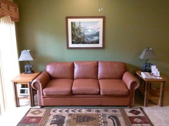 Westgate Smoky Mountain Resort & Spa: Living Room