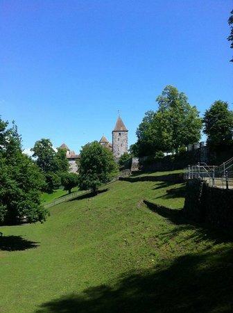Schloss Rapperswil: Schlossgarten