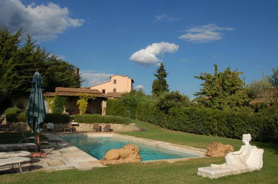 Canonica a Cerreto: La Piscina e il Giardino