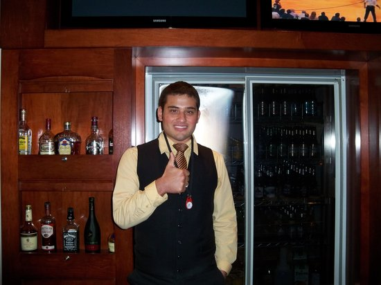 Chateau Saint John: Josh, our lovely bartender