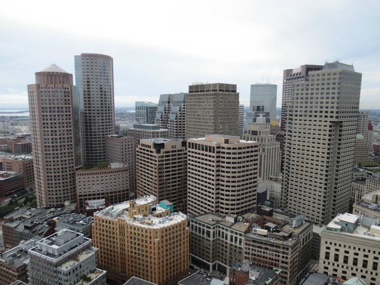Observation Deck View Picture Of Marriott Vacation Club Pulse At Custom House Boston Boston Tripadvisor
