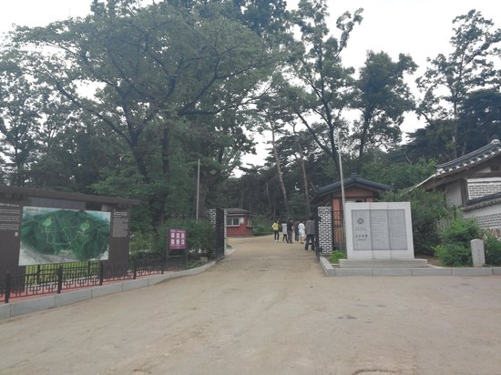 Geolleung: entrance