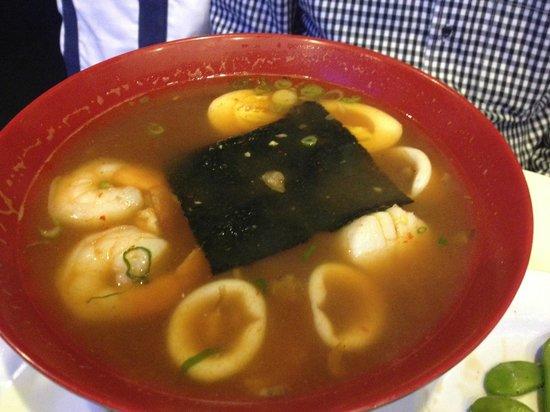 Deep Blue Sushi: Spicy Seafood Ramen