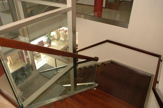 Hotel Koruna: Stairs
