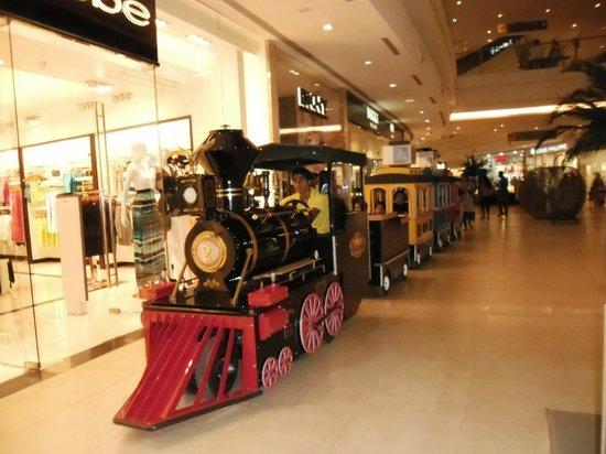 The Toy Train Chugs Along Picture Of Phoenix Market City Pune