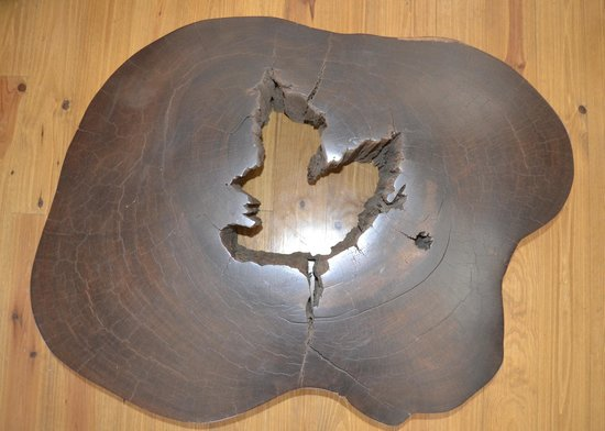 Esprit de France: Ebony Table from a French Artist