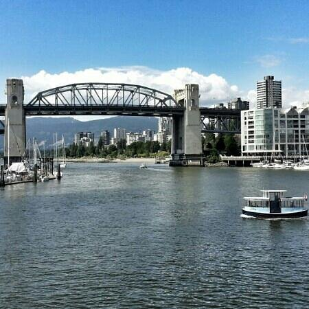 WESTCOAST Sightseeing: our view from Granville Island