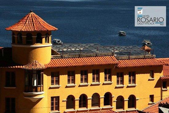 هوتل روزاريو لاجو تيتيكاكا: Great location close to the beach.