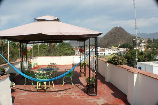 El Pequeno Suites: View of the Mirador on top of the hotel
