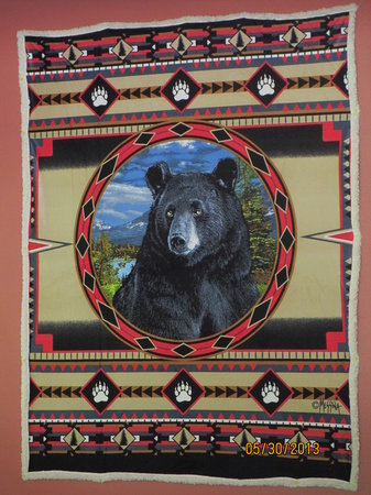 Bear-None: Bear None Wall Hanging