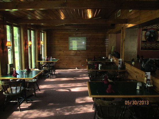Bear-None: Bear None Porch Dining Area