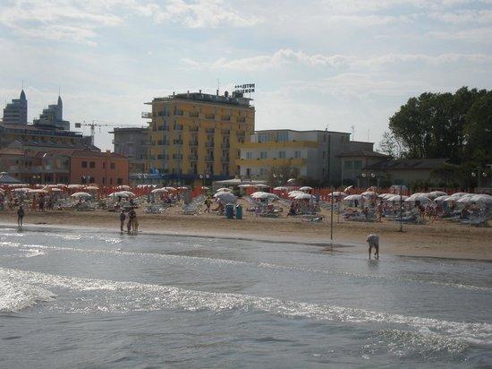 Hotel Silva: vista dal mare
