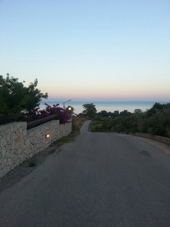 Livadaki Village Hotel: the hill
