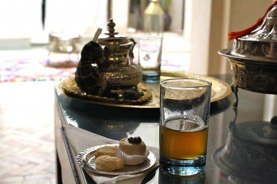 Riad Vanilla sma: mint tea