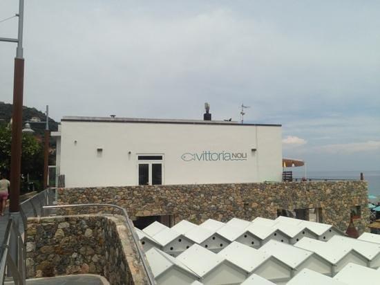 outside - bild von ristorante vittoria noli, noli - tripadvisor