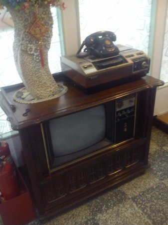 Hsin Hsin Hotel: antique electronic device