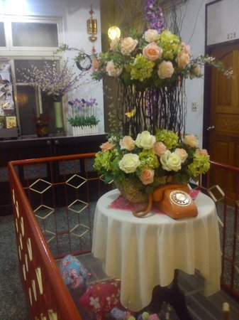 Hsin Hsin Hotel: vintage decorations