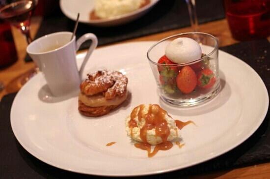 Le Cremet d'Anjou : café gourmand