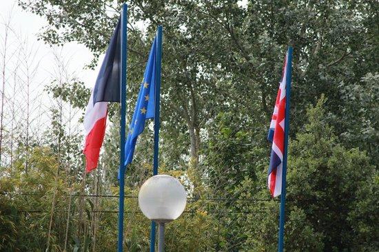 Camping Le Marais Neuf : l'entrée