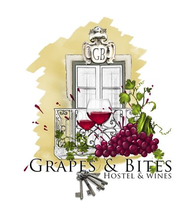 Grapes and Bites: Logo