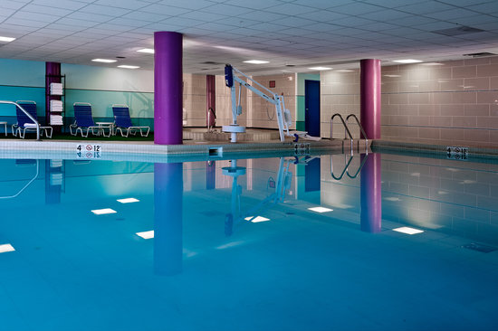 DoubleTree by Hilton Hotel South Bend: Our heated indoor pool and spa