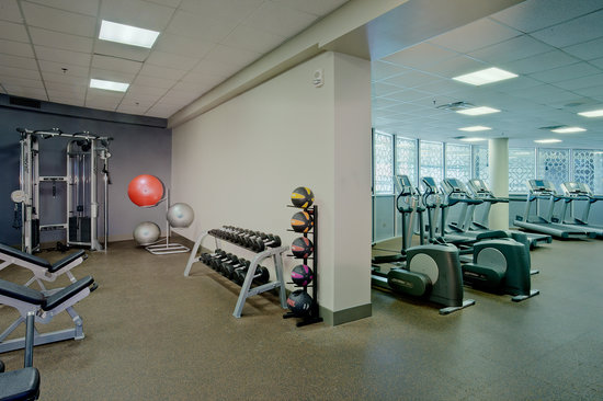 DoubleTree by Hilton Hotel South Bend: 24 Hour Fitness Center