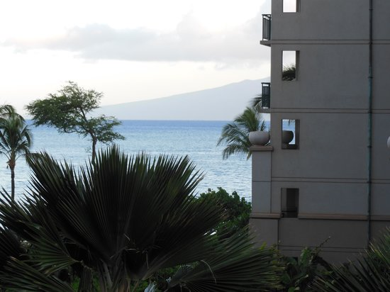 The Westin Kaanapali Ocean Resort Villas: our partial ocean view
