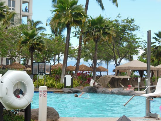 The Westin Kaanapali Ocean Resort Villas: the pool
