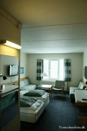 Vejle Center Hotel: værelset