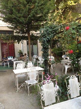 Le continental restaurant-discotheque : je vous conseille ses lasagnes exceptionnelles à l'abri de la tonnelle dans le jardin...idylliqu