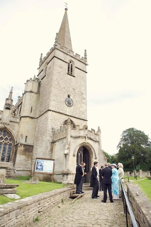 Damson Cottage: Lacock Church