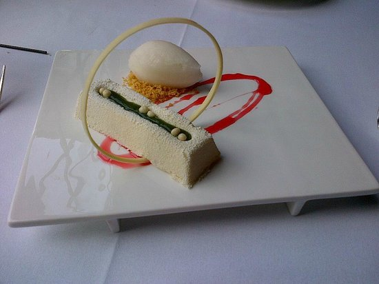 American Bounty: White Chocolate Mousse.