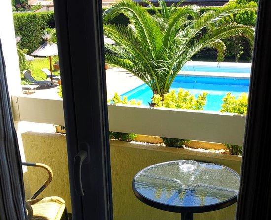 Hotel le Rodin: balcon