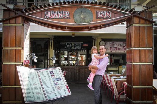 Summer Rain Restaurant : Aimee and Uncle Mussy