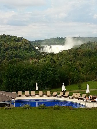 Sheraton Iguazu Resort & Spa: View of falls from room.