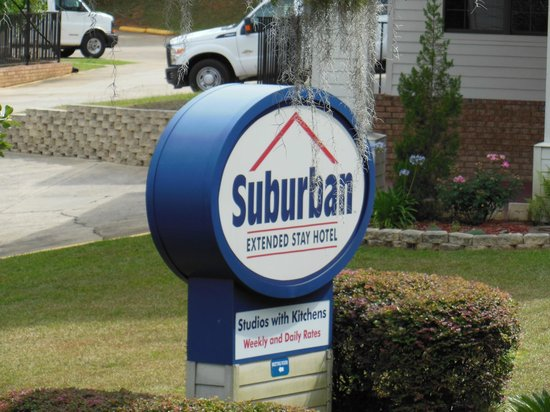 Suburban Extended Stay Hotel: Signage