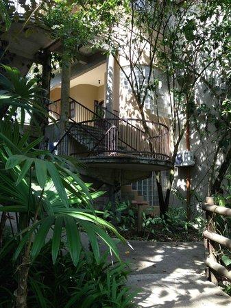 Arenas del Mar Beachfront and Rainforest Resort, Manuel Antonio, Costa Rica: view of our suite