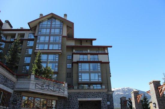 The Westin Resort & Spa, Whistler: Hotel exterior, Village side