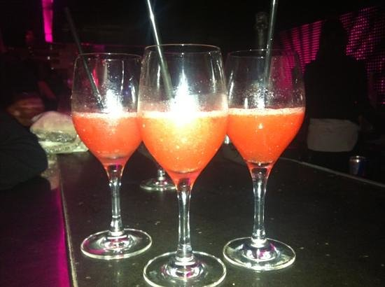 Le Baoli : strawberry daiquiri a la Baoli 20€ each!!