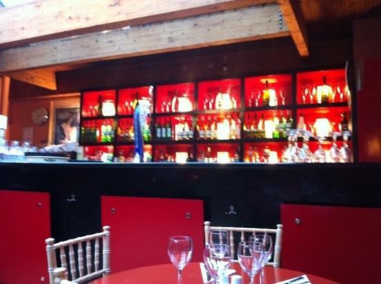 Corleone Restaurant: Calzone inside bar