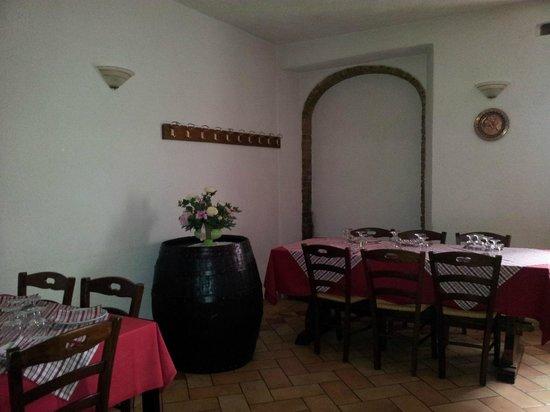 Agriturismo San Vito: Particolare zona ristorante