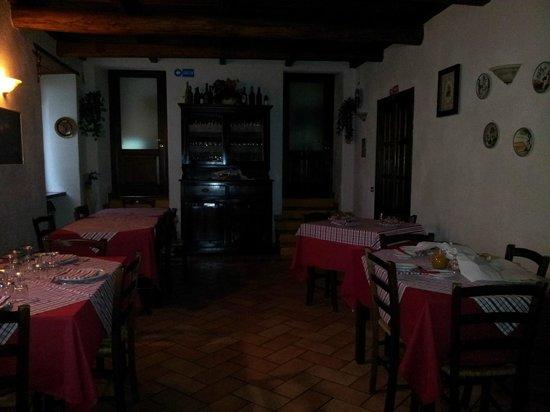 Agriturismo San Vito: Locale ristorante