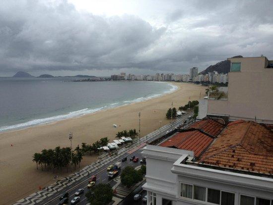 PortoBay Rio Internacional Hotel: Rainy day view