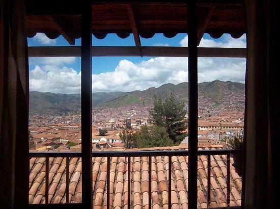 Samay Wasi Youth Hostels Cusco: vista de la habitación en el primer piso