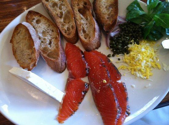 Grace's Table : Salmon breakfast