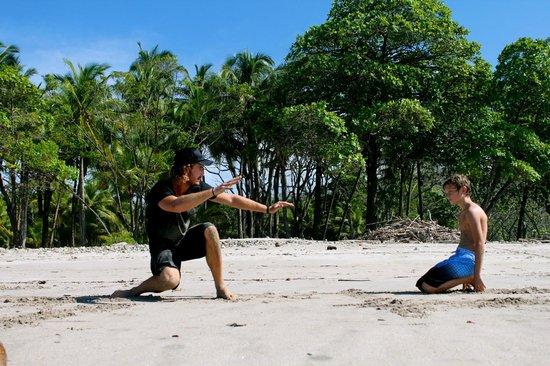 Atrapasuenos Dreamcatcher Hotel: surf lessons available