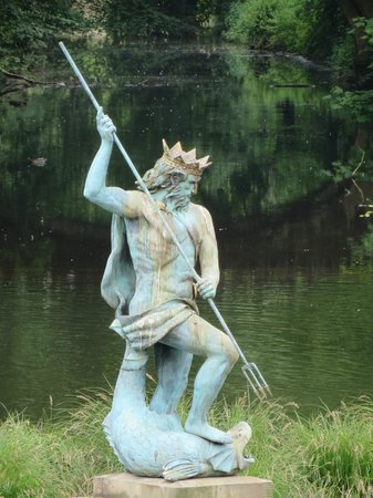 Sedgefield, UK: Neptune on the lake