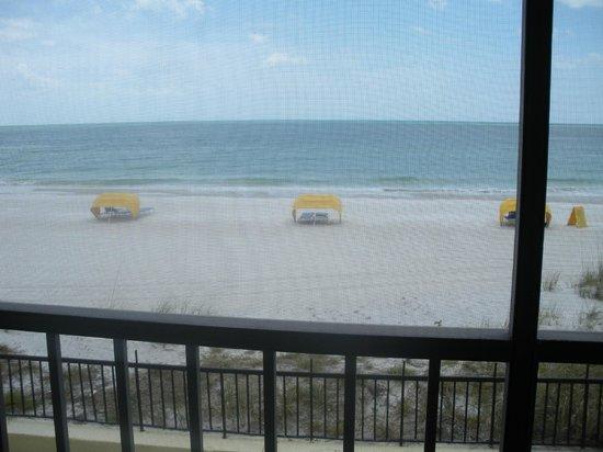 Shoreline Island Resort: view from room