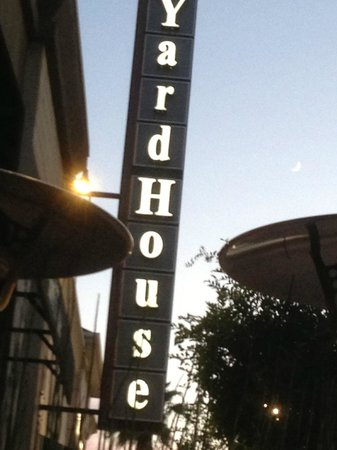 Yard House: from the outside patio
